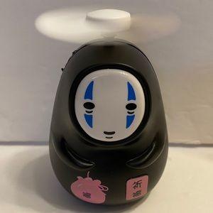 Spirited Away No-Face Man Kaonashi portable Fan